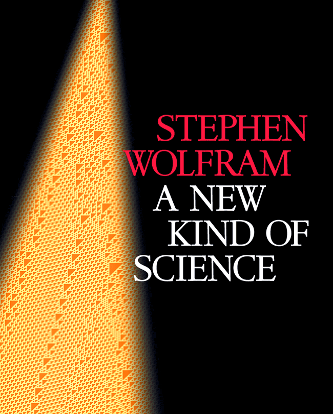 A New Kind of Science cover