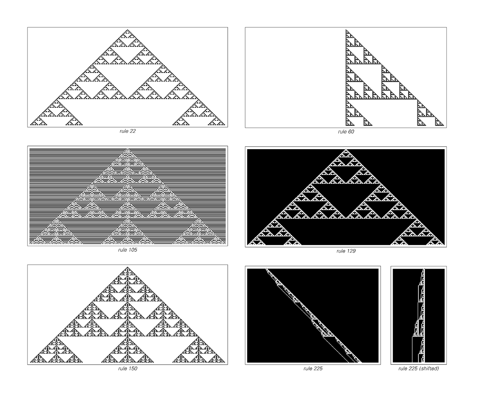 Nested/fractal patterns