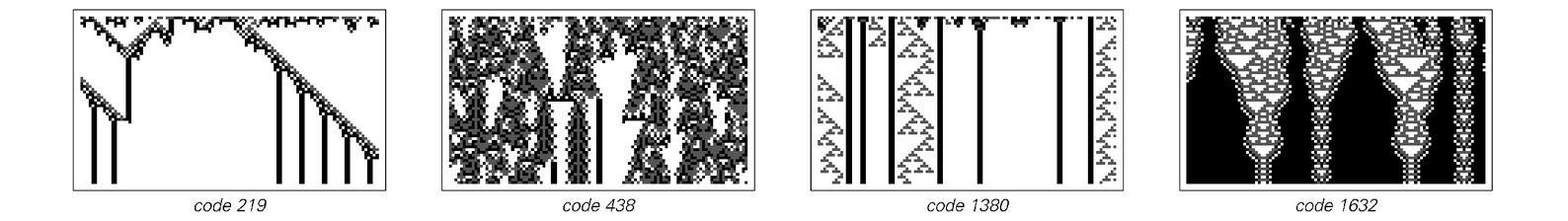 Borderline cellular automata