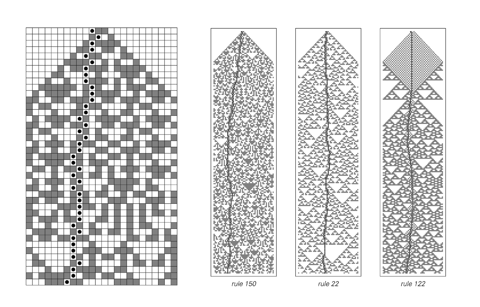Cellular automaton model for fracture