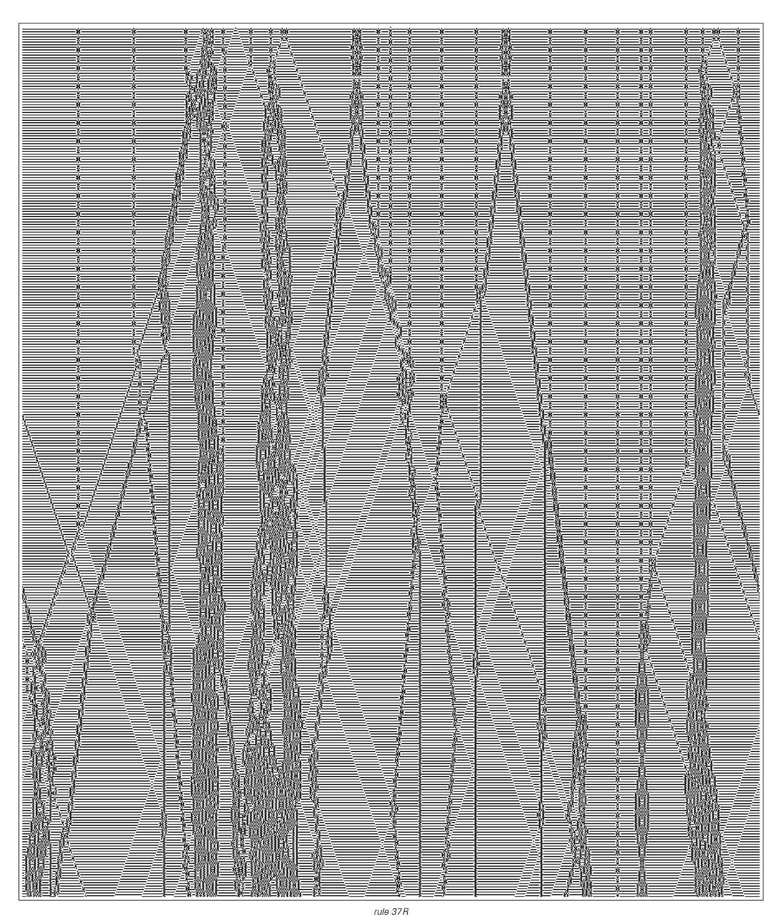 Reversible cellular automaton whose evolution supports localized structures