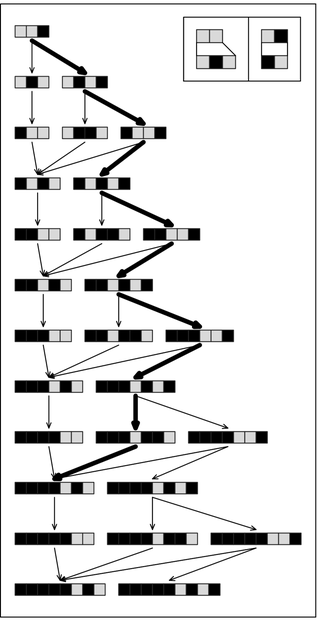An example of a path a Turning machine can test