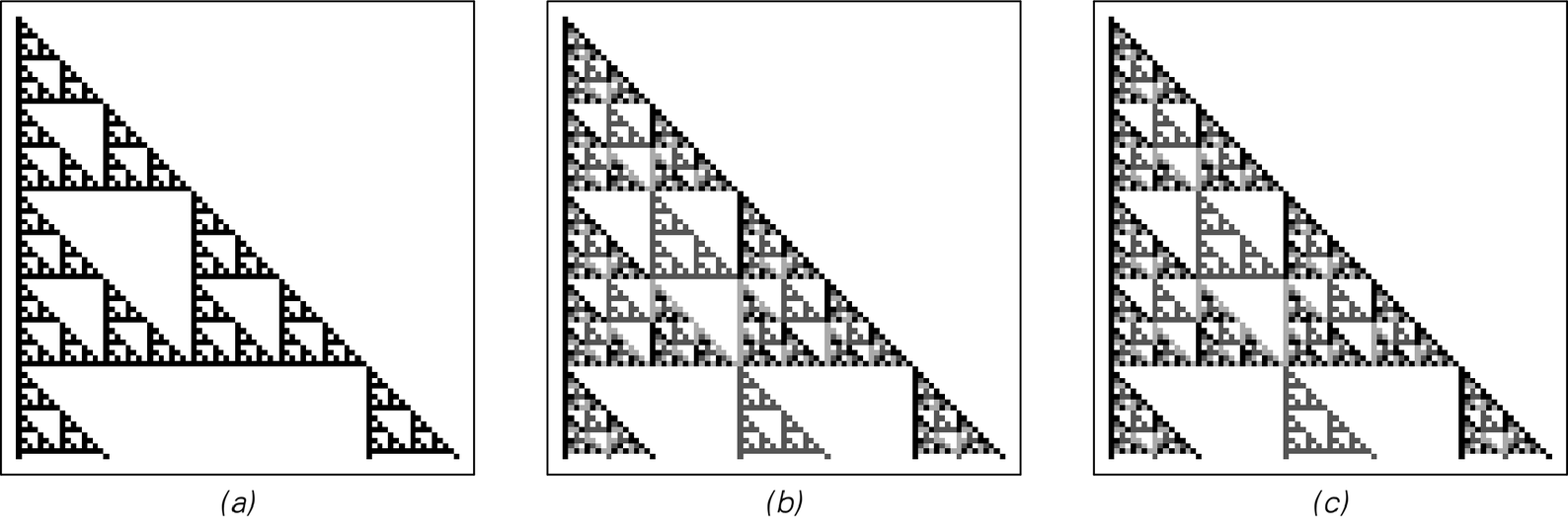 [Cellular automaton] rules based on algebraic systems image 1