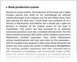 Book production system