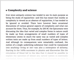 Complexity and science