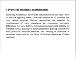 Practical empirical mathematics