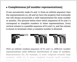 Completeness [of number representations]