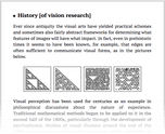 History [of vision research]
