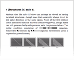 [Structures in] rule 41