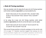 Rule 60 Turing machines