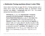 Multicolor Turing machines [from 2-color TMs]