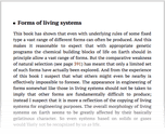 Forms of living systems