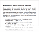 Satisfiability [emulating Turing machines]