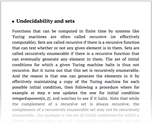 Undecidability and sets