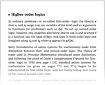 Higher-order logics