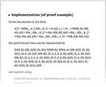 Implementation [of proof example]
