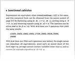 Junctional calculus