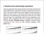 Nearby powers [and integer equations]
