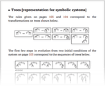Trees [representation for symbolic systems]