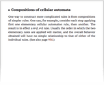 Compositions of cellular automata
