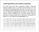 Rule equivalences [for cellular automata]