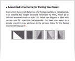 Localized structures [in Turing machines]