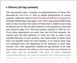 History [of tag systems]