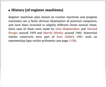 History [of register machines]