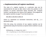 Implementation [of register machines]
