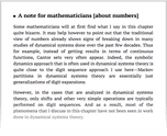 A note for mathematicians [about numbers]