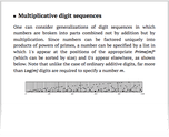 Multiplicative digit sequences