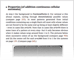 Properties [of addition continuous cellular automata]