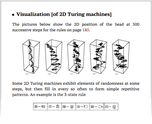 Visualization [of 2D Turing machines]