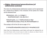 Higher-dimensional generalizations [of substitution systems]