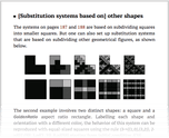 [Substitution systems based on] other shapes