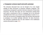 Computer science [and network systems]