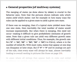 General properties [of multiway systems]