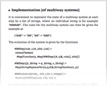 Implementation [of multiway systems]