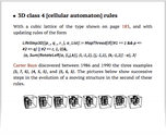 3D class 4 [cellular automaton] rules