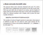 [State networks for] shift rules