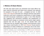History of chaos theory
