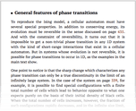 General features of phase transitions