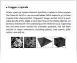 Hopper crystals