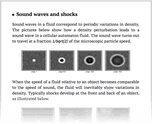 Sound waves and shocks