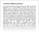 Reaction-diffusion processes