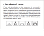 Directed network systems