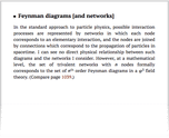Feynman diagrams [and networks]