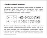 Network mobile automata