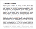 Pure gravity [theory]