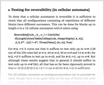 Testing for reversibility [in cellular automata]